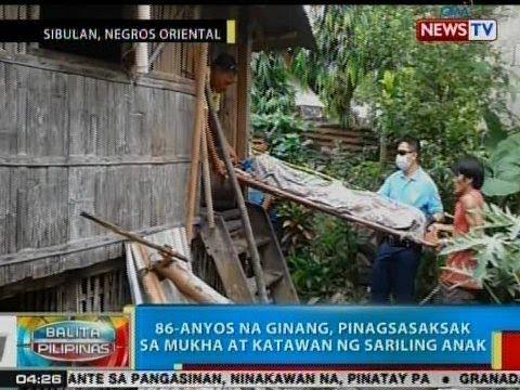BP: 86-anyos na ginang, pinagsasaksak ng sariling anak sa Negros Oriental