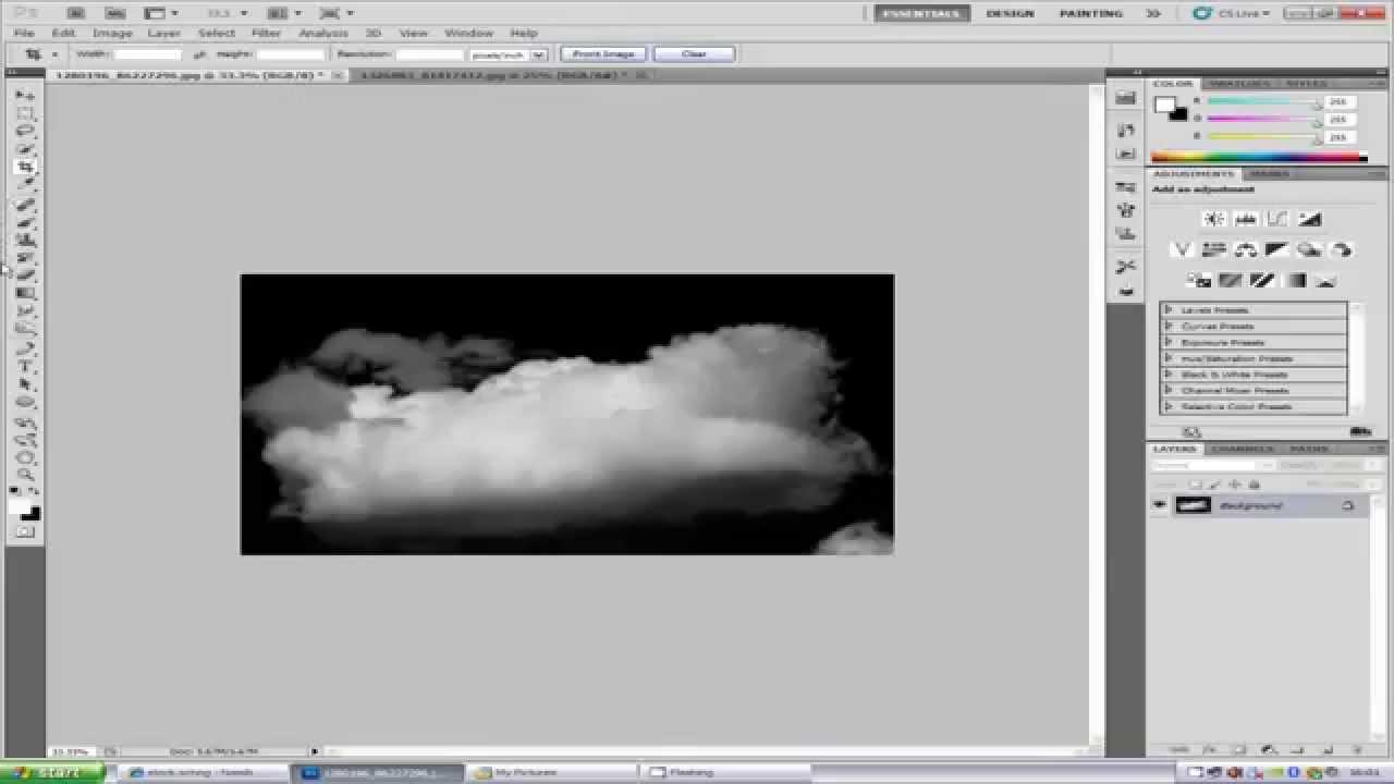 25 Cloud Photoshop Brushes