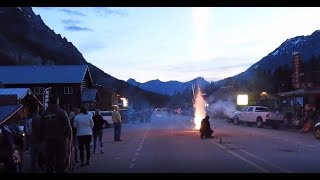 [2019] 4th of July Fireworks (Pregame) Cooke City - Montana