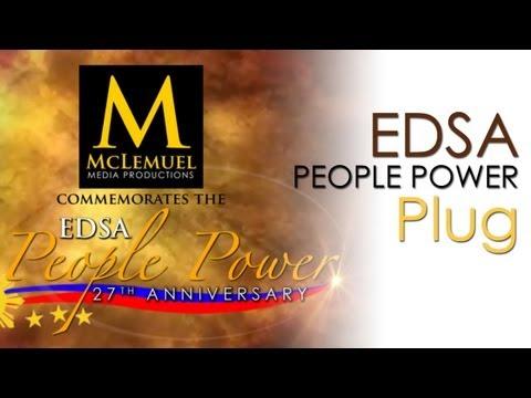 EDSA People Power Revolution   27th Anniversary