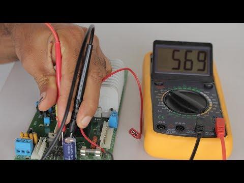 Aprendendo Eletrônica - Como usar o Multímetro Digital