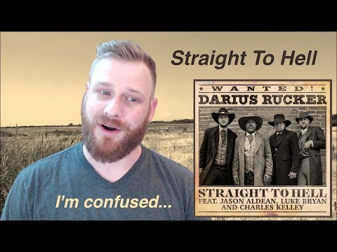 Darius Rucker - Straight To Hell (feat. Jason Aldean, Luke Bryan, Charles Kelley) | Reaction
