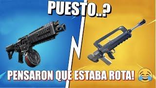 10 PEORES Armas Que Pensaron Que Estaban ROTAS PERO NO!   Fortnite
