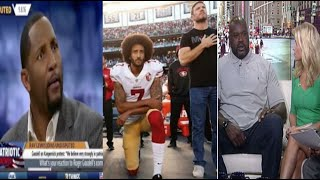 Shaquille O'Neal & Ray Lewis BLAST Colin Kaepernick for Protesting✊🏾~'I Would Never Do That'