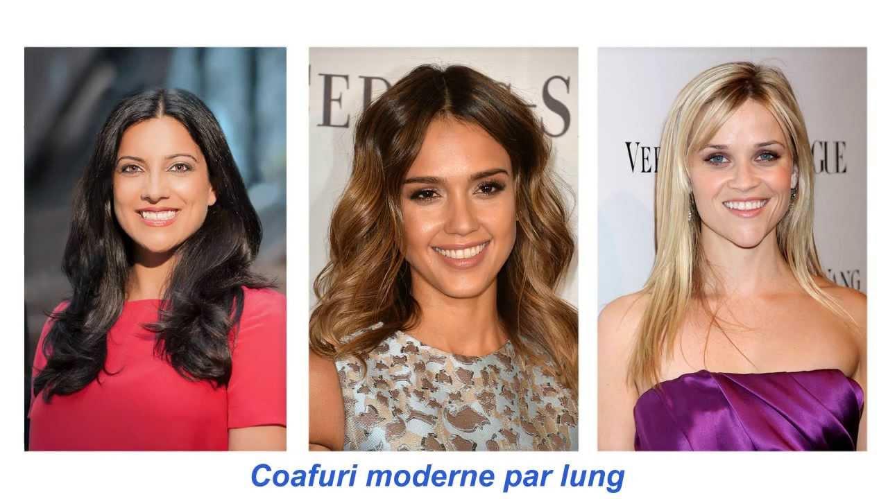 Coafuri Moderne Par Lung Youtube