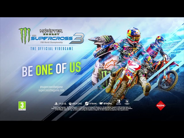 Supercross3 Feature 2 PEGI ENG