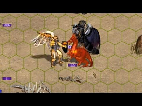 Heroes of Might and Magic III: Weakening the enemy