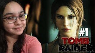 A BORN SURVIVOR - Let's Play: Tomb Raider Definitive Edition PS4 Gameplay Walkthrough Part 1