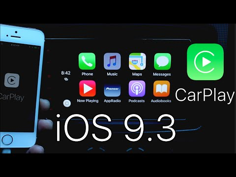New iOS 9.3 Apple CarPlay Features