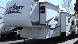 Used Everest 5th Wheel - 2006 Keystone Everest 345s - 37ft With 4 Slides