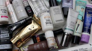 Declutter with Me-Primers!! Makeup Graveyard!