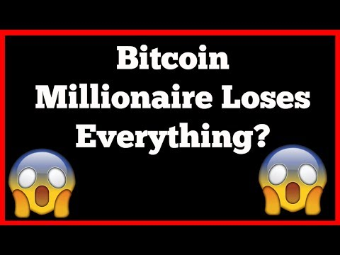 Bitcoin Millionaire Lost Everything - Bitcoin Horror Stories