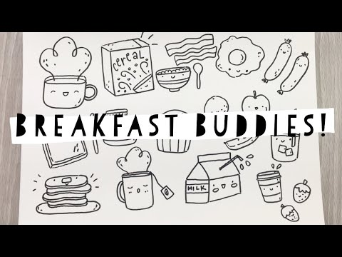 Breakfast Buddies | Doodle With Me
