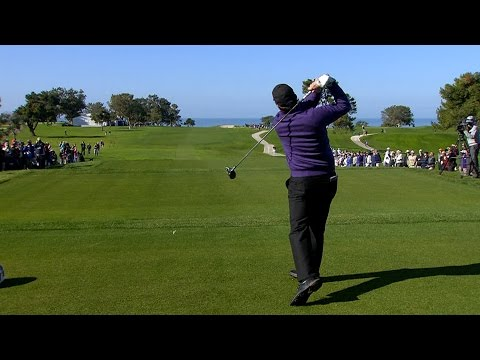 Phil Mickelson's slo-mo swing is analyzed at Farmers