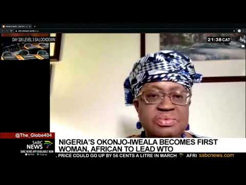 Nigeria's Ngozi Okonjo-Iweala becomes the first woman, African to lead WTO