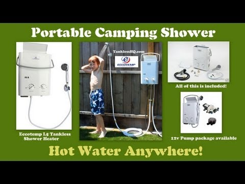 VIDEO | TINYHOUSE On Demand Water Heater | Living Off The Grid