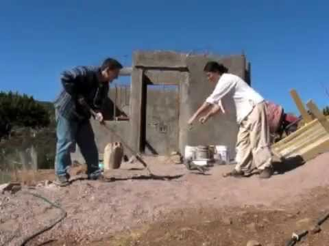 How to use a two-man shovel