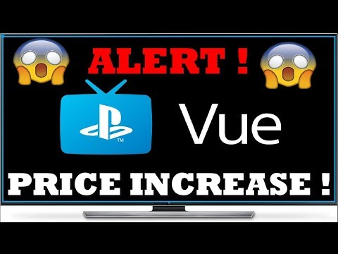 PLAYSTATION VUE Price increase 😲 | JUST LIKE YOUTUBETV AND DIRECT TV thumbnail