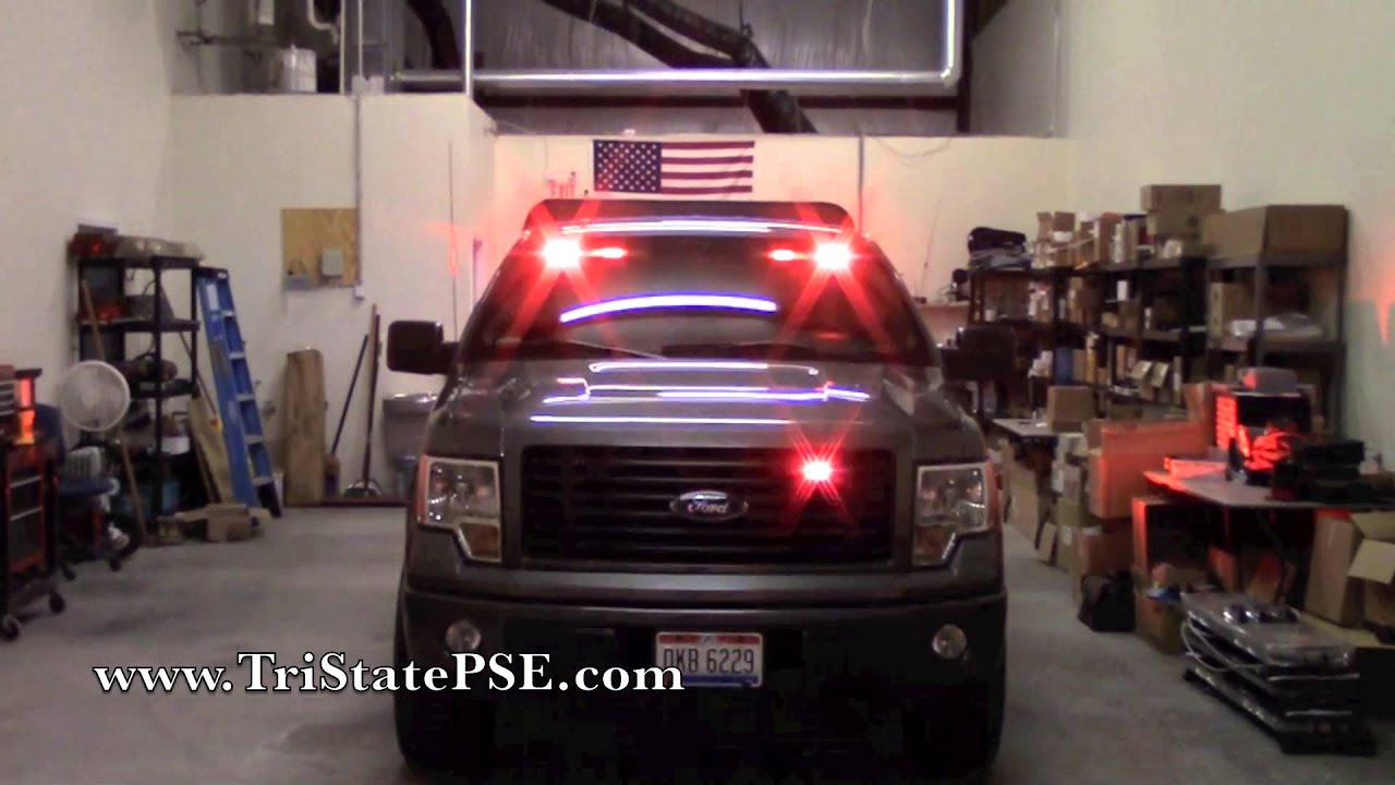 2016 Jeep Truck >> 2014 Ford F-150 Undercover Fireman POV Install - YouTube