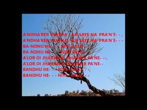Bondhu Hey Niye chalo by PRABHAT RANJAN SARKAR   1st Prabhat Sangeet  