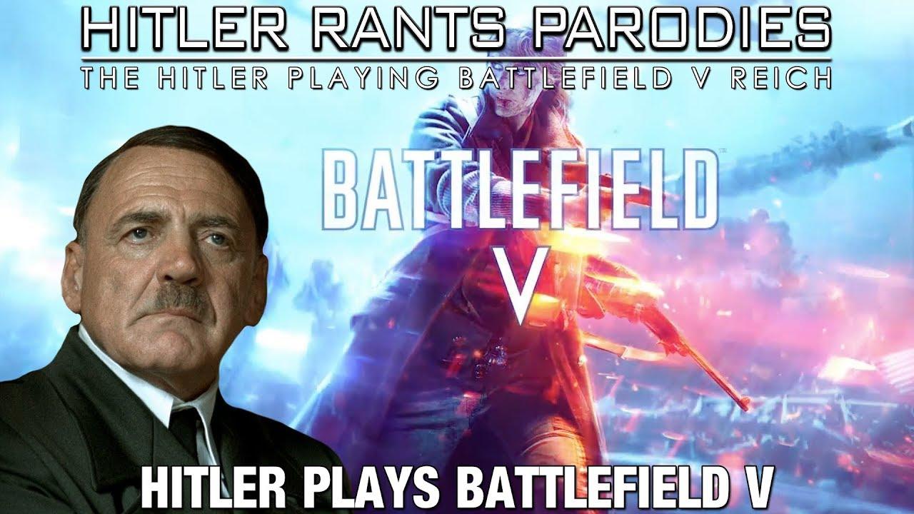 Hitler plays Battlefield V