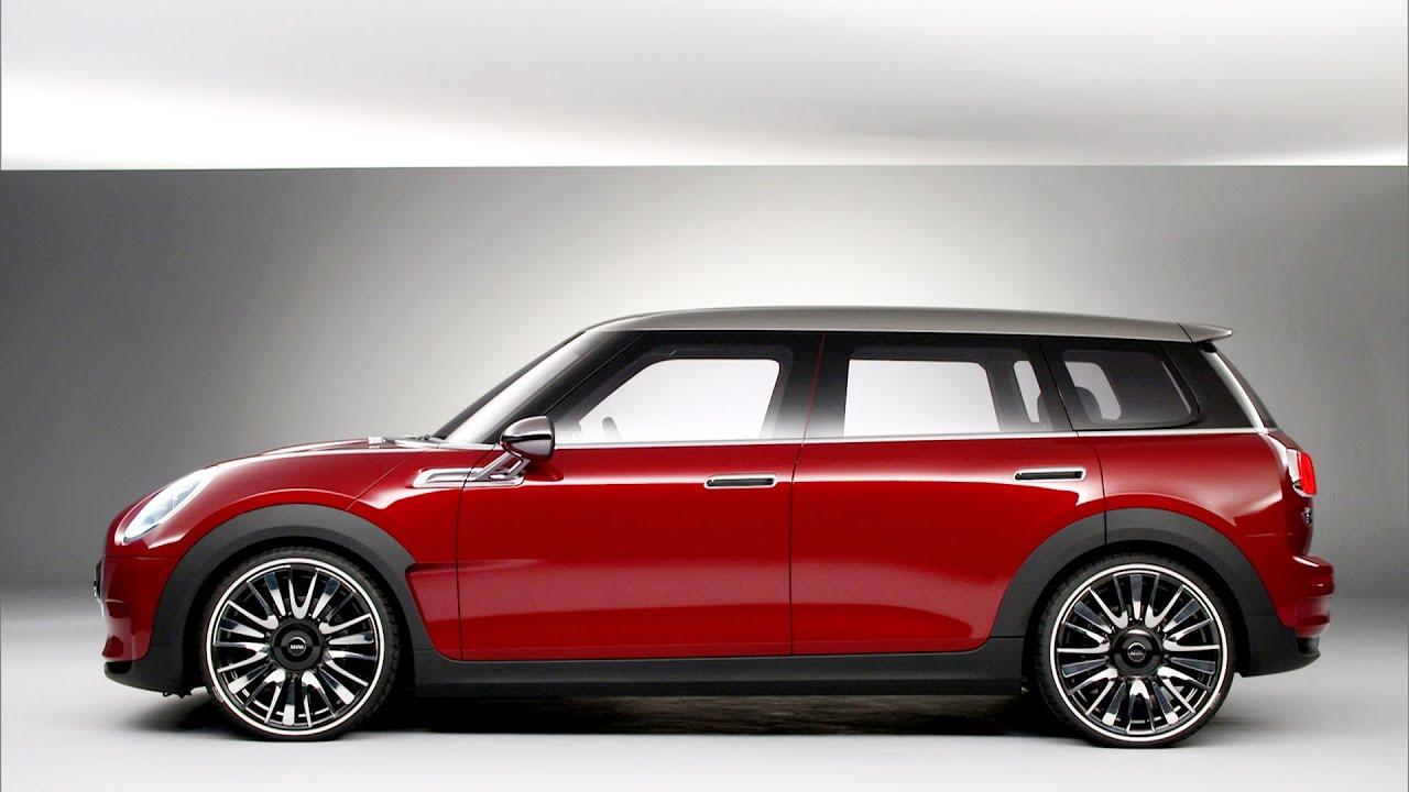 world premiere mini clubman concept 2014 geneva motor show youtube. Black Bedroom Furniture Sets. Home Design Ideas