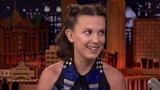 Millie Bobby Brown Does SPOT-ON Kardashian Impression & They Respond