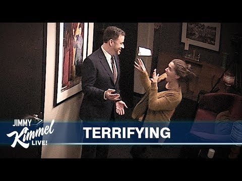 Tim Palmer - Jimmy Kimmel Pranks Staff With Wax Figure Of Himself
