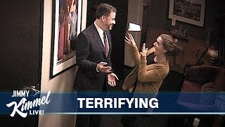 Download Jimmy Kimmel Pranks Staff with His Wax Figure Mp3 and Videos