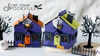 Papertrey Ink NEW!  Tiny Town Spookville Die Collection