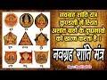 Navgrah Shanti Mantra - नवग्रह शांति मंत्र - Manali Sankla - HD  - Song