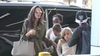 Анжелина Джоли необычно отметила день рождения дочери