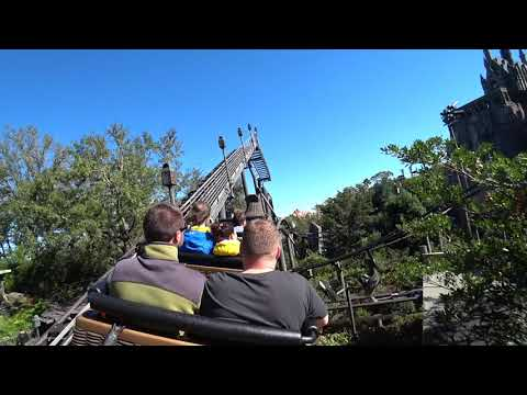 Flight of the Hippogriff Ride POV 4K/30p Wizarding World of Harry Potter Universal Studios, Florida