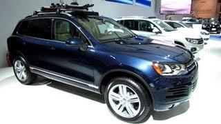 2013 Volkswagen Touareg TDI - Exterior and Interior Walkaround - 2013 Montreal Auto Show