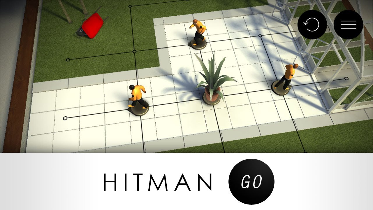 hitman go level 1 11 complete puzzle walkthrough youtube. Black Bedroom Furniture Sets. Home Design Ideas