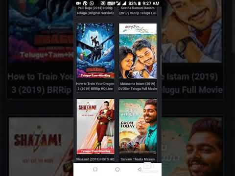How  To Download Avengers End Game  Movie In Telugu