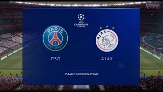 FIFA 21 ПСЖ Аякс Финал Лиги Чемпионов УЕФА PS4