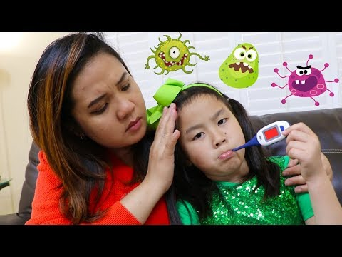 Sick Song | Jannie Pretend Play Nursery Rhymes & Kids Songs