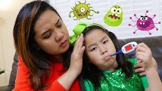 Sick Song | Jannie Pretend Play Nursery Rhymes & Kids Songs