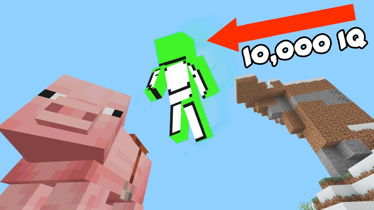 Dream 10,000 IQ Moments (Minecraft Tutorial)