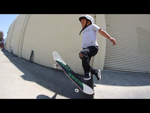 4 YEAR OLD STREET SKATEBOARDING! | BRAILLE STREET MISSIONS EP 6