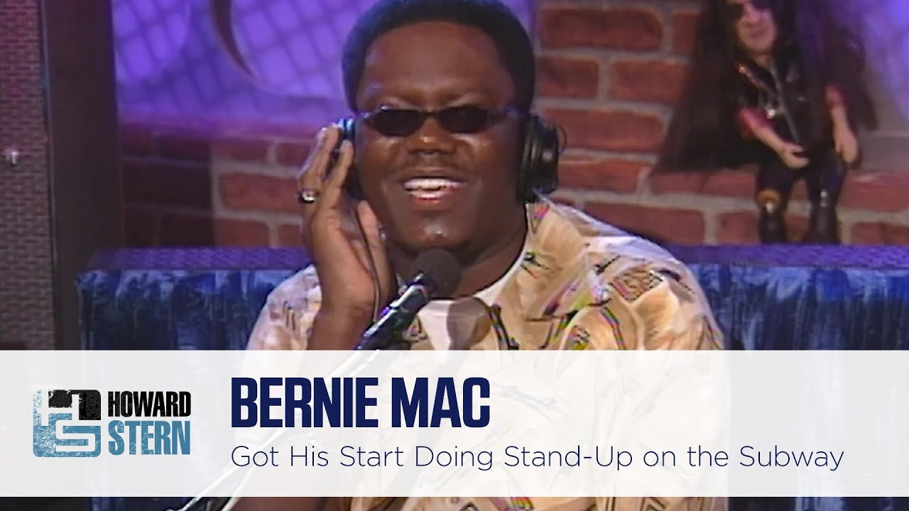 Bernie Mac Used to Perform Stand-Up Comedy at Funerals and on the Subway (2001)