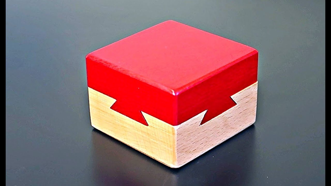 Impossible Puzzle Box Dovetail Cube Youtube