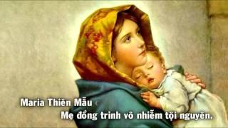 [Karaoke] Maria Mẹ Thiên Chúa - Những bài hát về Thiên Chúa