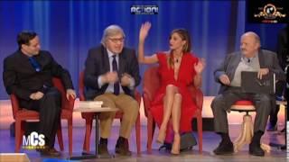 Belen Rodriguez VS Totó(Maurizio Costanzo Show)