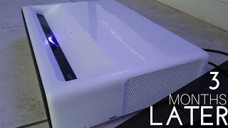 Xiaomi Mi Ultra Short Throw Laser Projector Update (3 Months Later)
