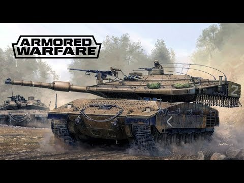 Merkava Mk. 4M v Armored Warfare