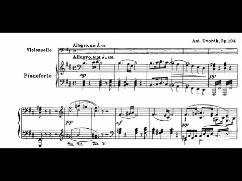 Antonín Dvořák - Cello Concerto in B minor Op.104 (w/score)