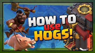 How to use Hogs - TH10 Attack Strategy Guide for 3 Stars | Clash of Clans Elite Gaming War 2018