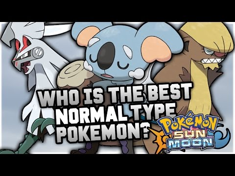 Who Is The BEST NEW Normal Type Pokemon In Pokemon Sun and Moon?